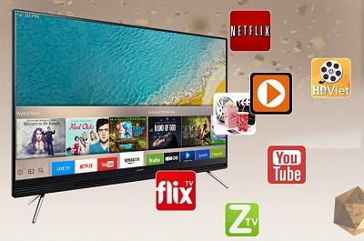 Tivi kết nối wifi 7