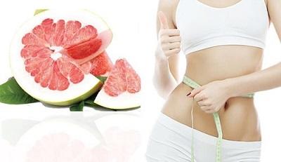 Trà bưởi giảm cân