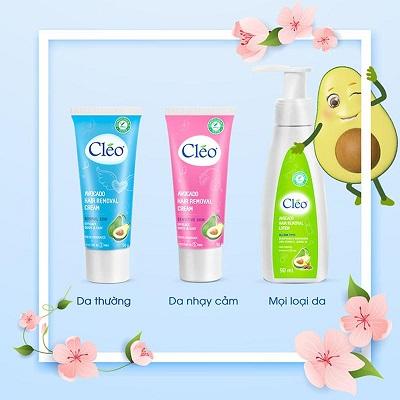 Kem tẩy lông Cleo